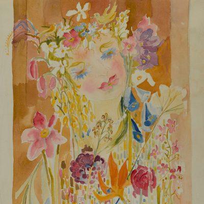 Blumenfrau/Flower Lady