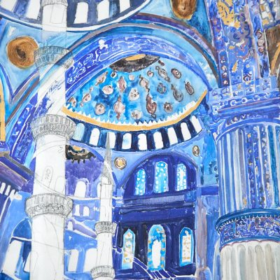 Blaue Moschee/Blue Mosque
